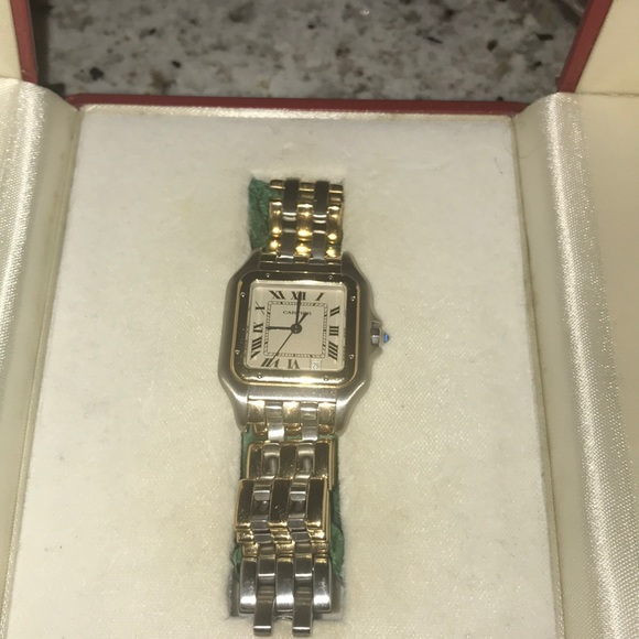 10e4716f3cab Cartier Accessories - Vintage Cartier Panthere Watch